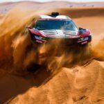ЭлектрокарAudiдля ралли «Дакар»испытали в пустыне: автомобиль сломался