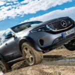 Замеченавнедорожная версия электрического Mercedes EQC