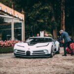 Bugatti Centodieci EB110: поражающий суперкар
